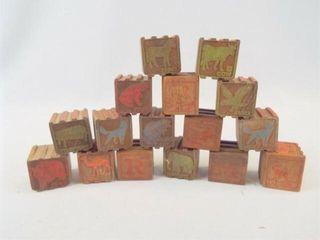 Wood Blocks  1 25   15