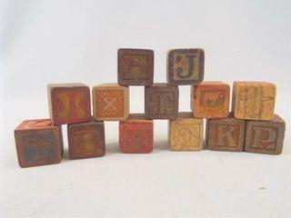 Wood Blocks  1 25   12