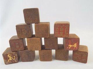 Wood Blocks  1 75   12