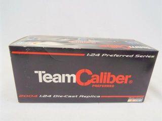 2004 Team Caliber Diecast Car  Autograph