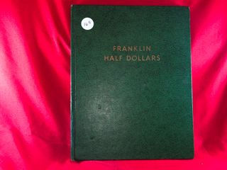 Franklin   Kennedy Half Book  1949 1964   29  Coins  x29
