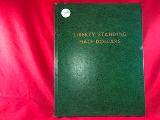 Walking liberty Half Book  1918 1947   25  Coins  x25