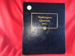 Washington Quarter Book  1932 1979   106  Coins  x106