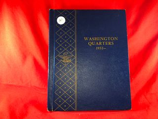 Washington Quarter Book  1932 1964   82  Coins  x82