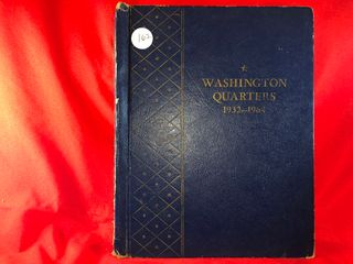 Washington Quarter Book  1932 1964   81  Coins  x81