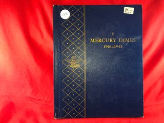 Mercury Dime Book   72  Coins  x72