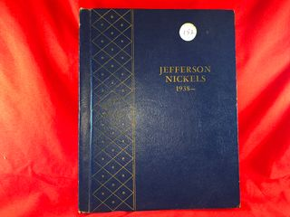 Jefferson Nickel Book  1938 1963  Complete  x1