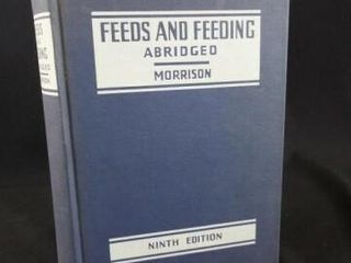 1958 Feeds and Feeding  Morrison