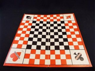 1940 Checards Game Board