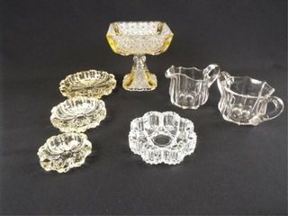 Clear Glass Pieces  7