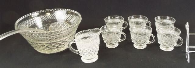 Wexford Punch Bowl  Cups  Pitcher  8