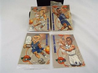 The Actions Back Basketball Cards  4