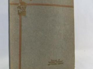 1932 legion Airs Military Songbook
