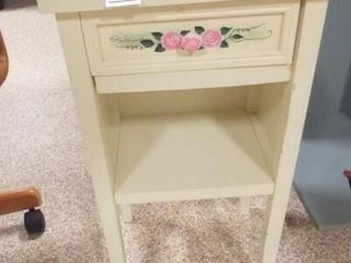 Accent Table  Decorated