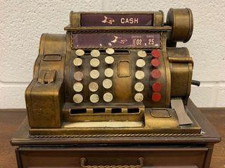 Unusual Replica Cash Register Cash Box