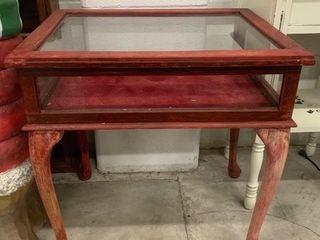 Small Floor Standing Display Cabinet