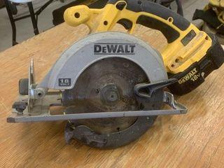 Dewalt DC390 18 Volt Circular Saw