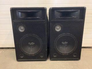 Pair of Digital Audio DJ Speakers