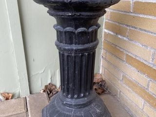 Heavy Stone Concrete Plant Stand Pedestal