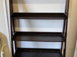 Modern Step Back Standing Shelf