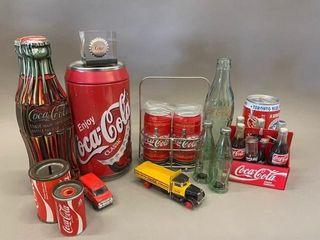 lot of Man Coca Cola Collectables
