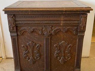 Early Raymond Cabinet Sewing Machine