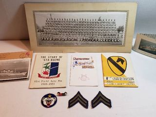 Military Items from 1953