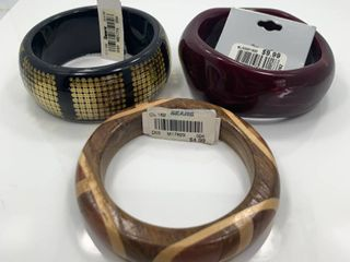 lot of 3 Fashion Bracelets with Tags