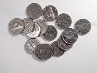 20x Canadian Nickels