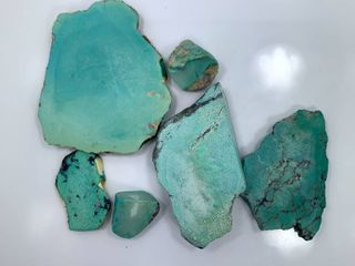 Scrap Turquoise for making Cabochons or artwork