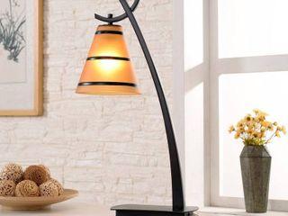 Carbon loft Edmund 1 light Table lamp
