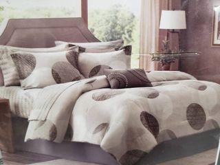 Cosmoliving Terrazzo Cotton Printed Comforter Set   Full