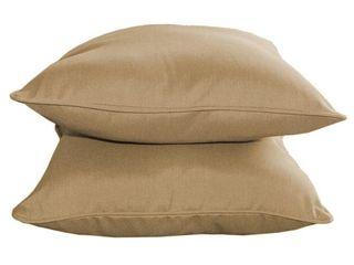 Invite Sunbrella Outdoor Patio Pillows   Set of 2