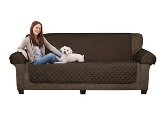 Maytex Waterproof Quilted Suede Sofa Pet Furniture Protector