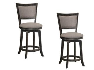 Best Master Furniture Swivel Bar Stools   Set of 2