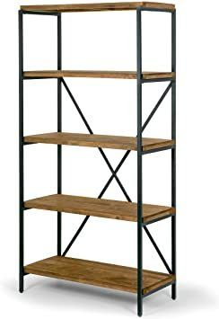 Glamour Home Allis Pine Wood Shelf