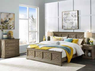 Home Styles Mountain lodge Footboard   King