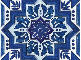 Floor Adorn Adhesive Decorative   Removable Vinyl Floor Appliques   36 Pack