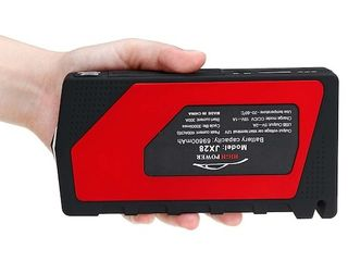 12V Portable Car Jump Starter Power Bank Pack Booster Charger