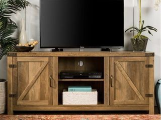 The Gray Barn Firebranch Barn Door TV Console