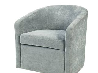 Amber Swivel Chair by Martha Stewart