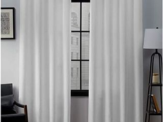Porch  amp  Den Sugar Creek Grommet Top loha linen Curtain Panels   Set of 2