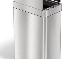 iTouchless 13G Wings Open Sensor Trash Can