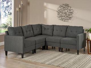 PIECE OF Emmie Mid Century Modern Sofa