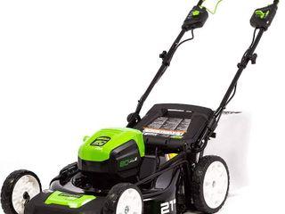Greenworks Pro Cordless Self Propelled lawn Mower