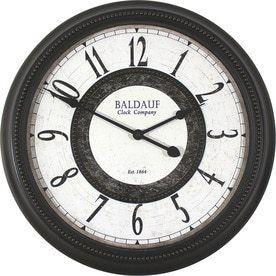 allen   roth Round Indoor Clock