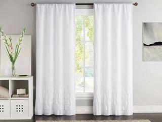 VCNY Amber Blackout Curtain Panels   Set of 2