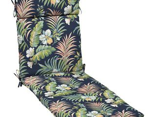 Arden Selections Escape Outdoor Chaise lounge Cushions   Set of 2