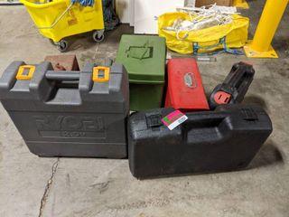 Empty Tool Boxes