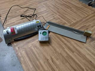 Office Supplies  laminator And Paper Cutter